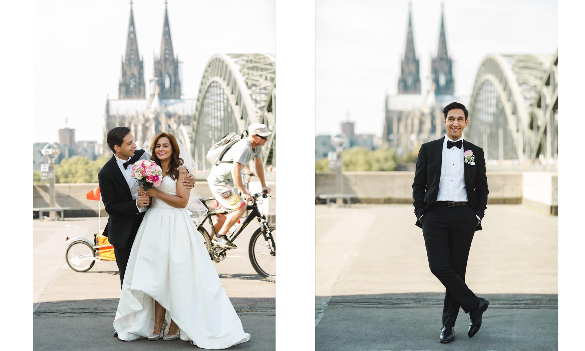 Shemy & Bahram Köln Dom Bike